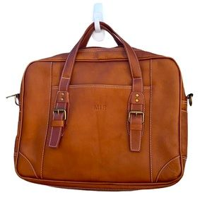 Clare Chase Leather Laptop Case
